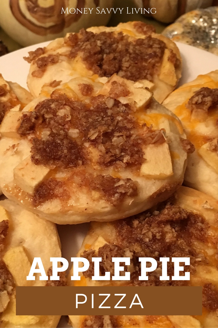 Apple Pie Pizza | Money Savvy Living