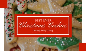 Best Ever Christmas Sugar Cookies
