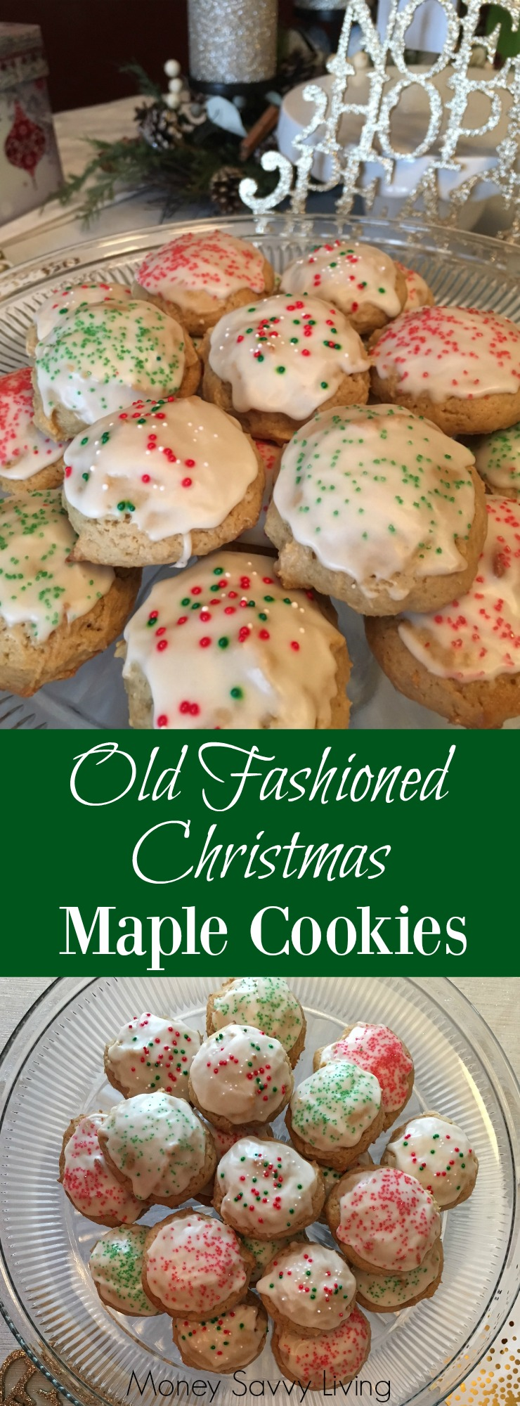 Old Fashioned Christmas Maple Cookies | Money Savvy Living