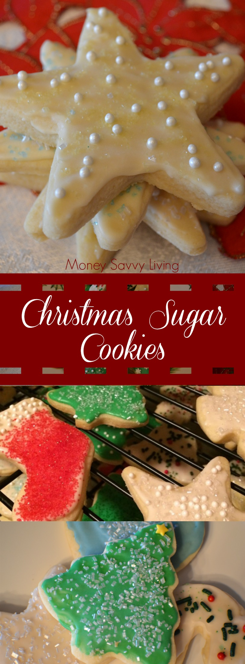Your family is going to love this recipe for classic Christmas cut-out sugar cookies!  #cookies #cookierecipe #christmascookies #sugarcookies #cutoutcookies
