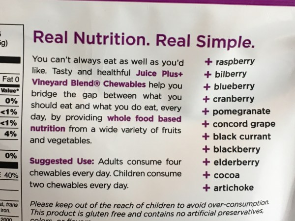 Berry Blend Juice Plus+ capsules or chewables ingredients #antioxidants #berries #berryblend #immuneboost