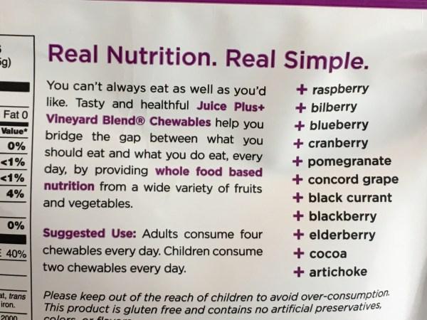 Berry Blend Juice Plus+ capsules or chewables ingredients #antioxidants #berries #berryblend #immuneboost