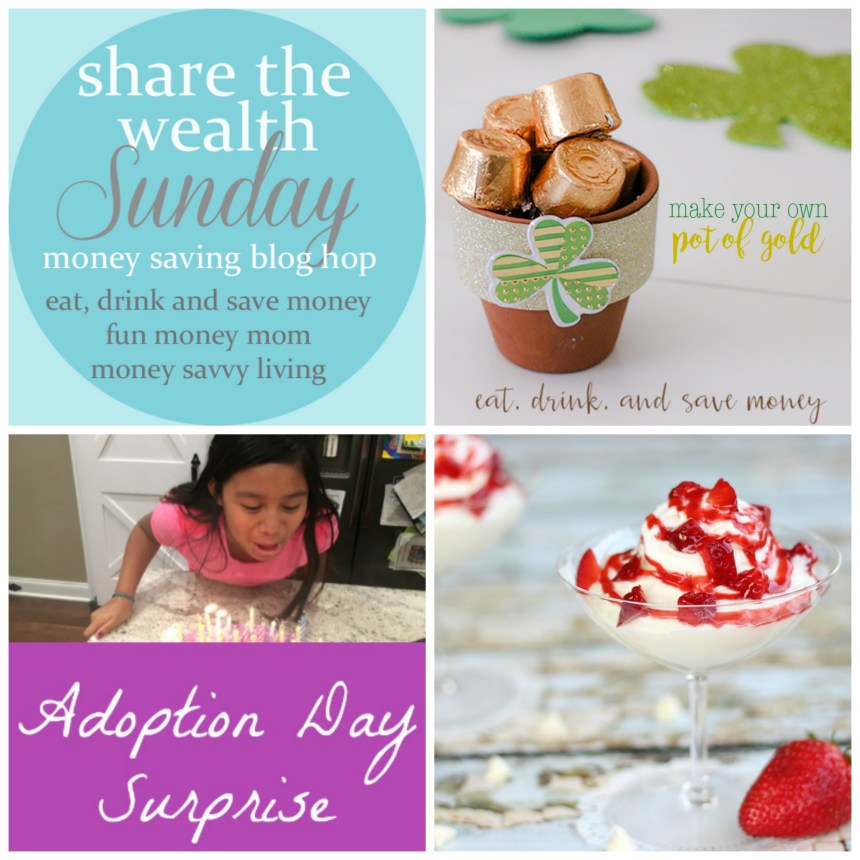Share the Wealth Sunday Link Up 94 | Money Savvy Living