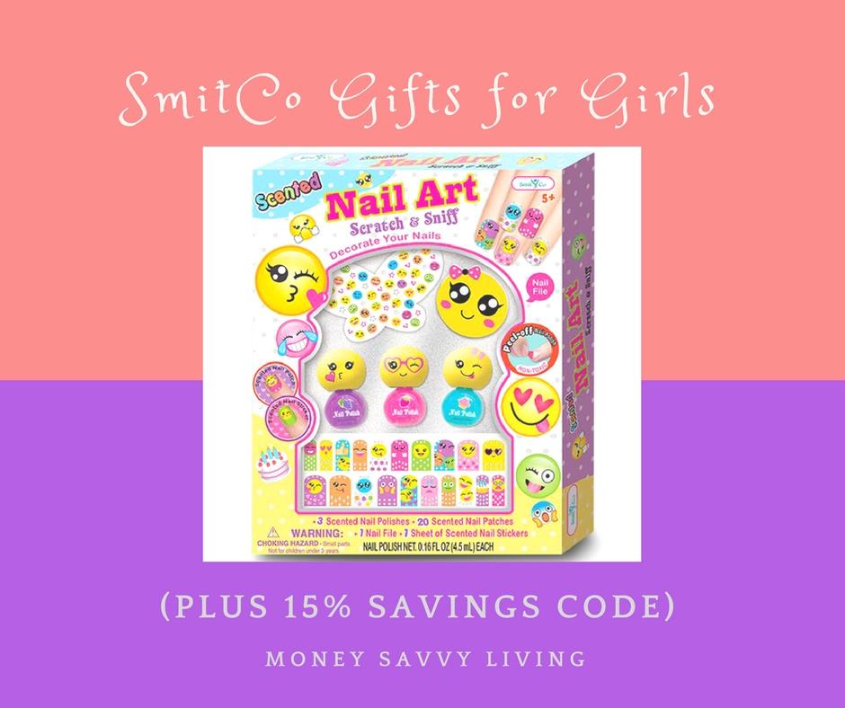 SmitCo Gifts for Girls + Savings Code | Money Savvy Living