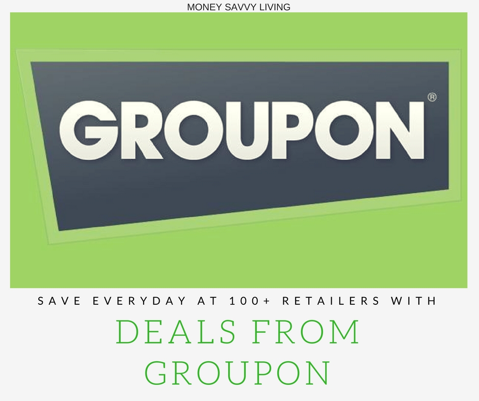 Save Everyday at 100+ Retailers with Deals from Groupon // Money Savvy Living
