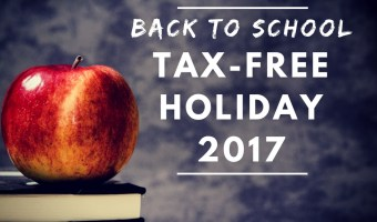 Back to School Tax-Free Holidays 2017, Nationwide List