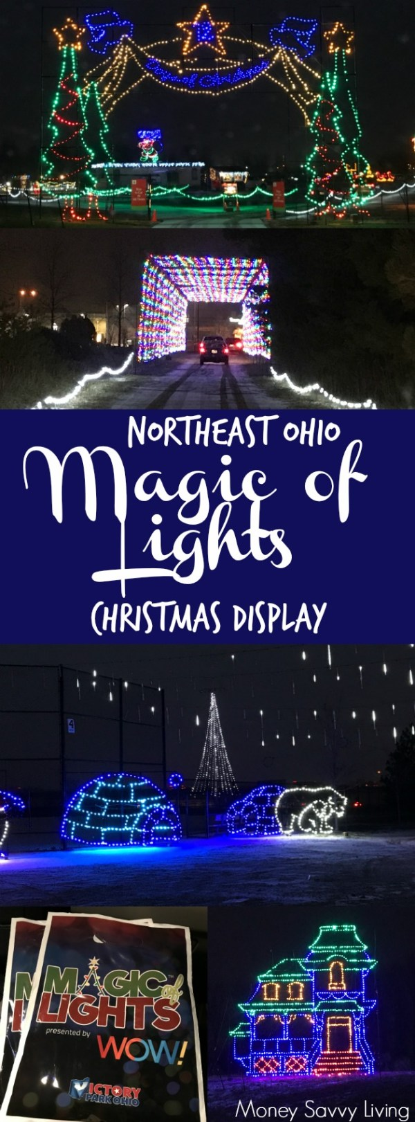 Magic of Lights - Victory Park Review by Gina Young | Northeast Ohio ...
