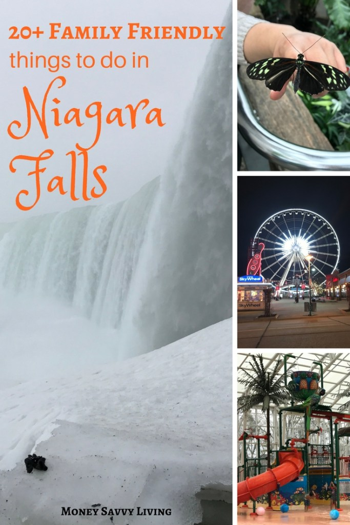 Family Friendly Things to do in Niagara Falls // Money Savvy Living #NiagaraFalls #exploreniagara #visitniagara #familyvacation #vacation #frugalvacationplanning #cheapvacation