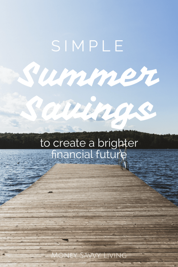 15 Simple Ways to Save Money this Summer // Money Savvy Living #summer #savemoney #waystosavemoney #lexingtonlaw