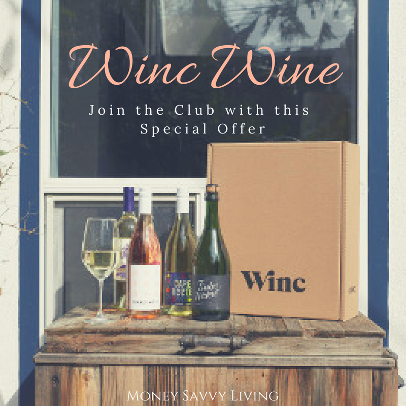 Special Offer for Winc Wine Save $22 Off Your First Month of Winc #winc #wine #cheersdelivered #usfg