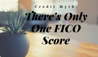 Trying to repair your credit and increase your score? Make Sure that you focus on all three credit bureaus and don't be fooled by the Credit Myth: There's Only One FICO Score // #creditmyth #creditmythbuster #FICOscore #creditscore #lexingtonlaw