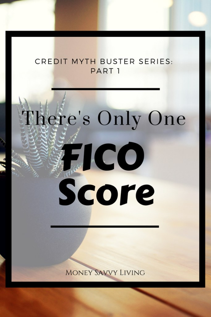 Trying to rapair your credit and increase your score? Make Sure that you focus on all three credit bureaus and don't be fooled by the Credit Myth: There's Only One FICO Score // #creditmyth #creditmythbuster #FICOscore #creditscore #lexingtonlaw