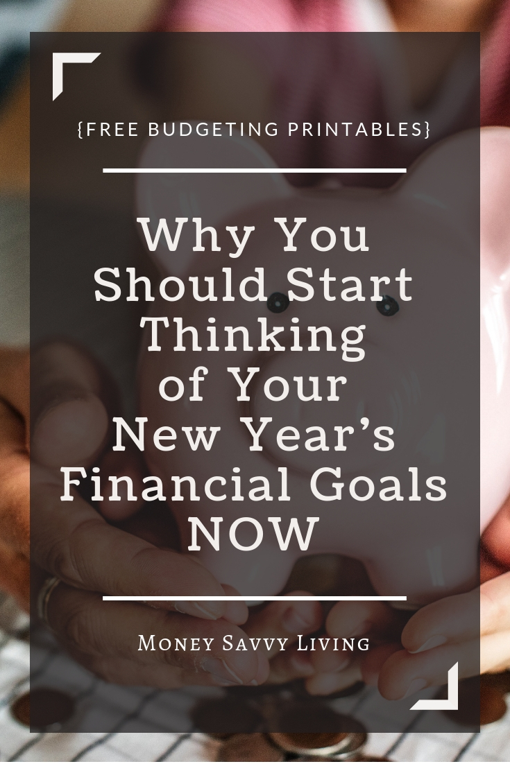Don't wait until the New Year to make a resolution to improve your finances, start now! Before the holidays arrive, map out a budget and a plan to keep your finances on track! #budget #finance #money #holiday #christmas #newyear #resolution #personalfinance
