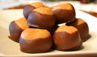 #buckeyes #peanutbutter #chocolate