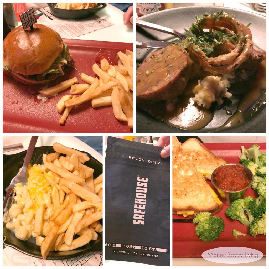 Best places to eat in Chicago! #chicago #chicagofood #travelchicago #safehouse #safehousechicago #spythemed #uniquerestaurants #funrestaurants