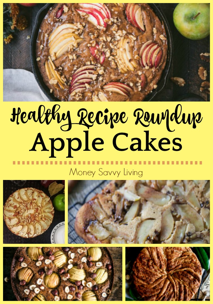Healthy Apple Cake Recipes for Fall #apple #appledesserts #applerecipes #applecake #healthy #healthydesserts #healthyrecipes #healthyapplerecipes