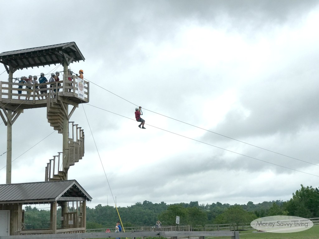 Go zip lining at the Ark Encounter! #zipline #adventure #ArkEncounter