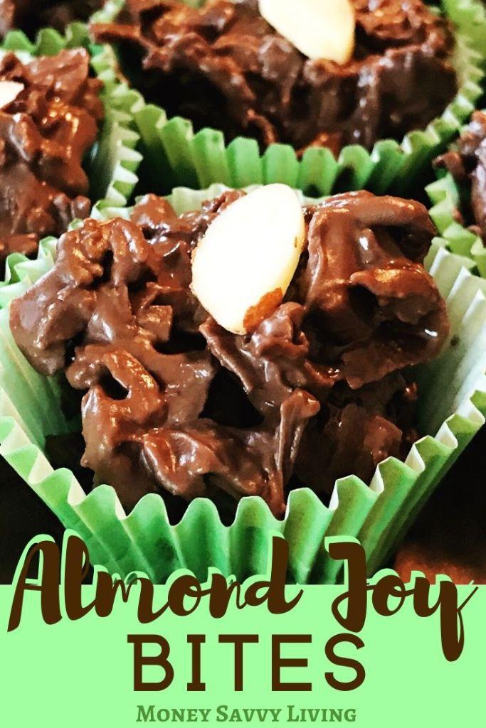 Coconut Almond Clusters / Almond Joy Bites