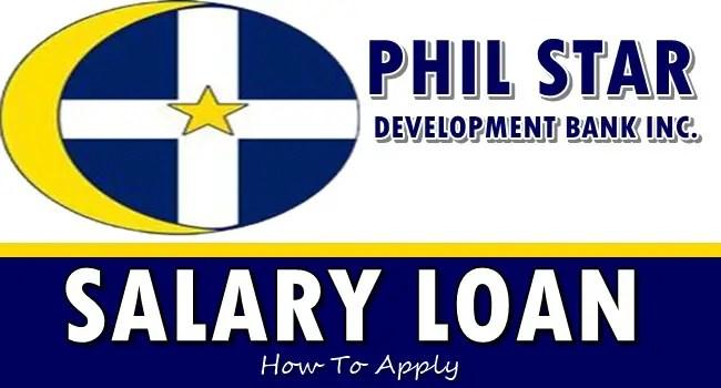 PSDB Salary Loan