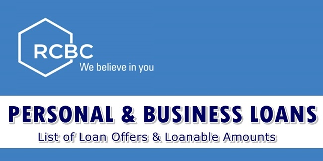 RCBC Personal Loans & Business Loans