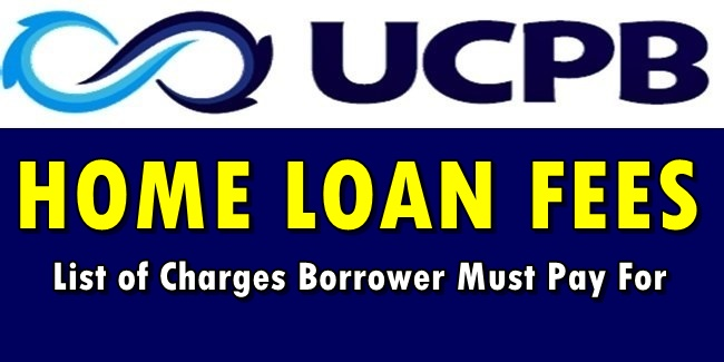 UCPB Home Loan Fees