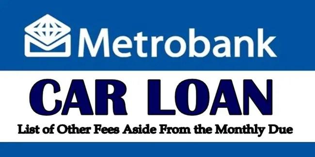 Metrobank Car Loan
