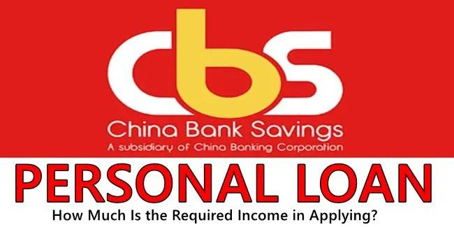 China Bank Personal Loan