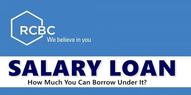 RCBC Salary Loan