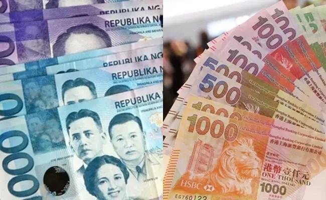 Peso-Hong Kong Dollar Exchange Rate
