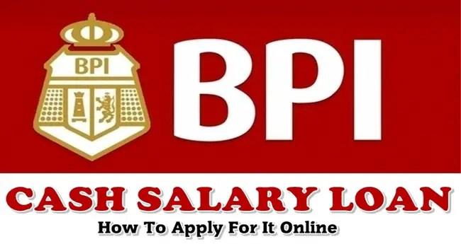 BPI Cash Salary Loan