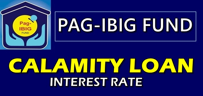 Pag-IBIG Calamity Loan Interest Rate