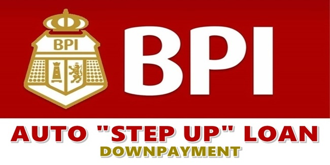 BPI Auto Step Up Loan Downpayment