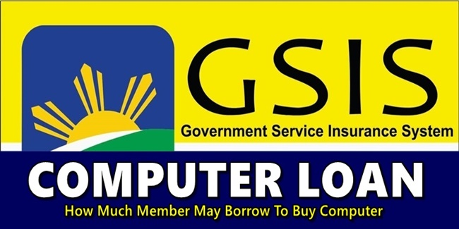 GSIS Computer Loan