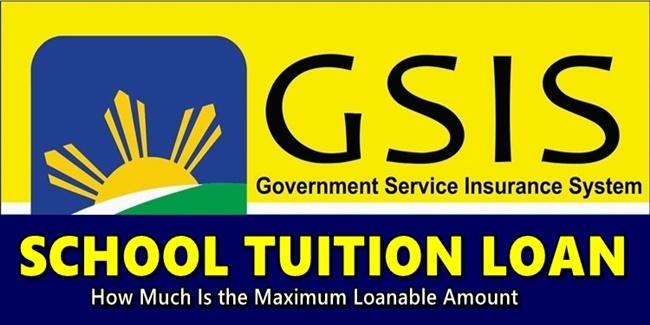 GSIS School Tuition Loan