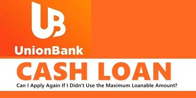 UnionBank Cash Loan