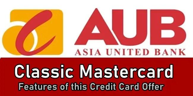 AUB Classic Credit Card