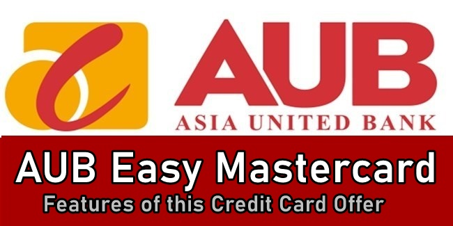 AUB Easy Credit Card
