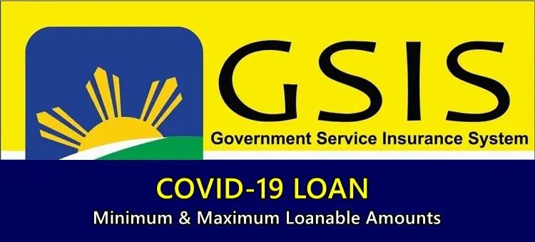 GSIS COVID-19 LOAN