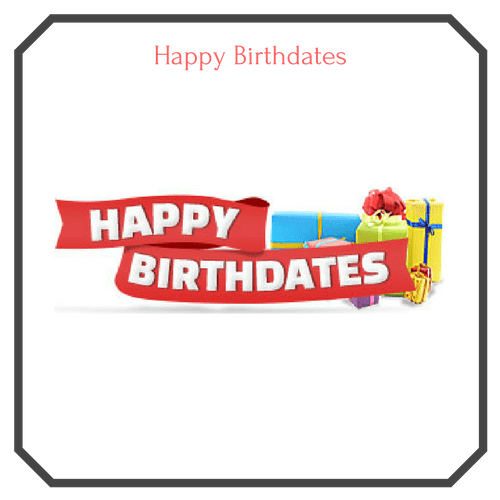 Happy Birthdates Logo