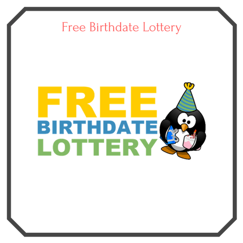 Free Birthdate Lottery Logo