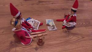 Elf on The Shelf Playing Cards