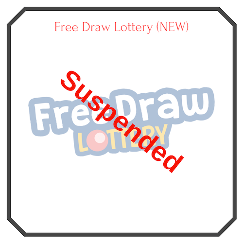 Free Draw Lottery Logo (Suspended)