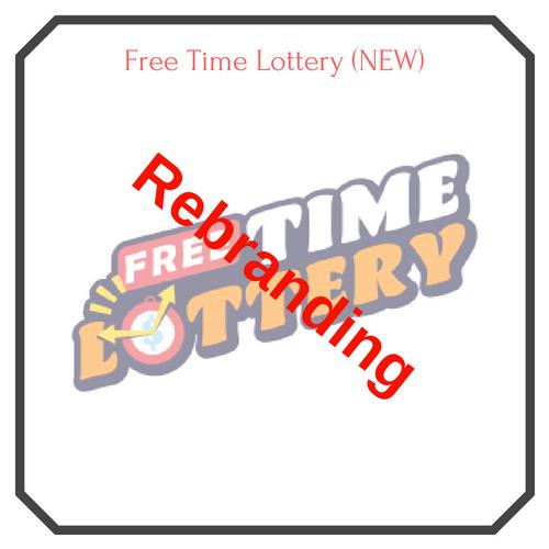 Free Time Lottery (Rebranding) Logo - Free Lottery Draw