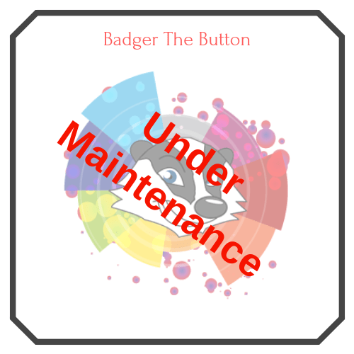 Badger The Button (Under Maintenance) Logo - Free Lottery Draw