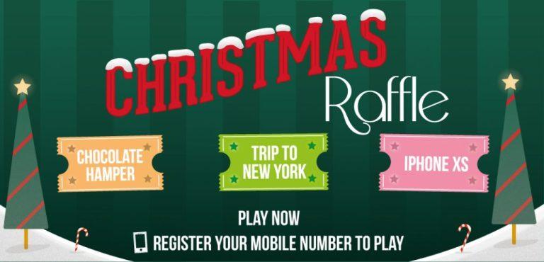 tombola Christmas Raffle 2018 Header