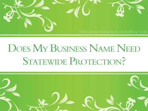 small business corporation to protect name