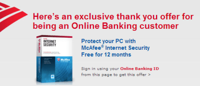 Bank-of-America-Free-Mcafee