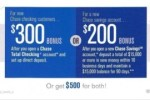 Chase $500 Combo Coupon