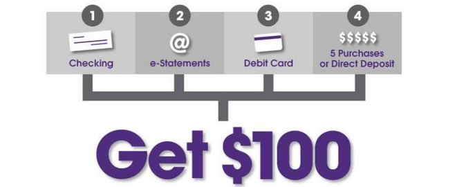 Orange County Credit Union $100 Bonus