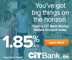 CIT Bank Money Market Promotion 2